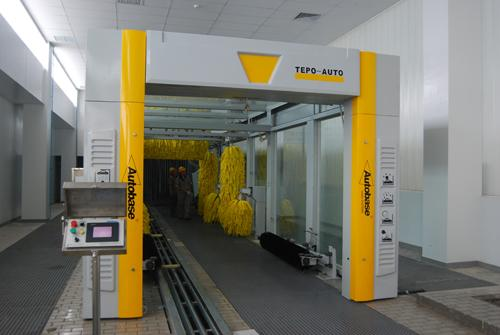 Automatic tunnel car washing machine TEPO-AUTO TP-1201