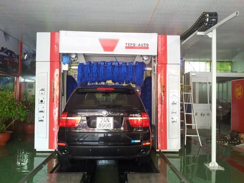Autobase car wash system innovative sharing!