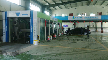 Trung Quốc Fast Conveynor Express Car Wash Tunnel / Automatic Car Wash System TP -1201 nhà cung cấp