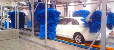 Trung Quốc AUTOBASE - AB -120 Car Wash Tunnel Equipment , Vehicle Washing Systems with germany brush nhà cung cấp