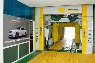 Trung Quốc Automatic Car Wash Equipment For Saloon Car / Jeep / Mini Microbus / Taxi And Box Type Vehicle Under 2.1m nhà cung cấp