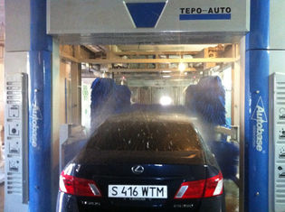 Trung Quốc Automatic Car Wash Tunnel Systems TEPO-AUTO-TP-1201-1 quick cleaning speed nhà cung cấp