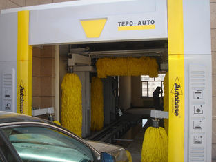 Trung Quốc Automatic Tunnel Car Wash System which can wash 400-500 cars per day nhà cung cấp