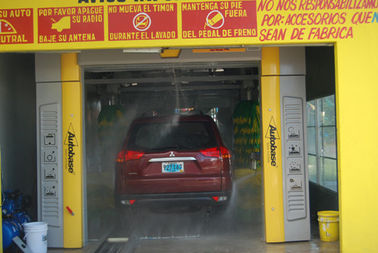 Trung Quốc Noiseless Tunnel Car Wash System Brush With Automatic Air Drying System nhà cung cấp
