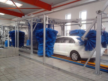 Trung Quốc Tunnel Car Wash Systems With Three Color Wax Spraying , Innovation Mode nhà cung cấp