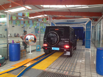 Trung Quốc USA Autobase Tunnel Car Wash Equipment with Germany Brush nhà cung cấp